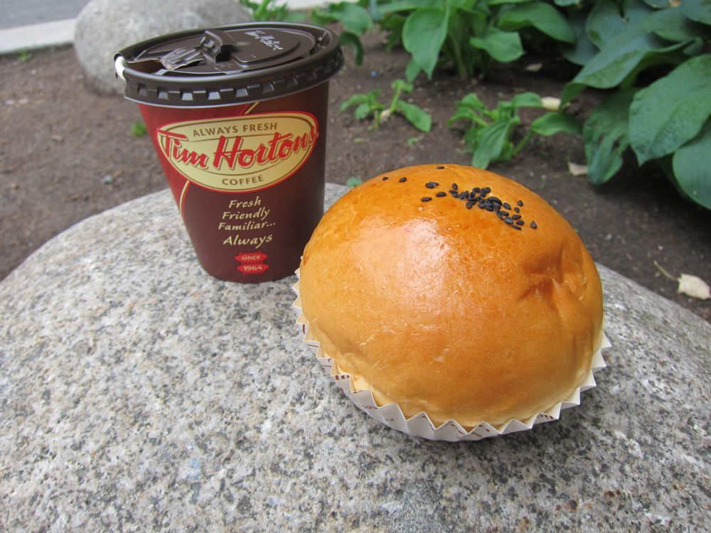 Red Bean Buns and Timmies