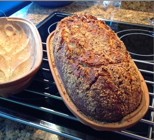 Einkorn Hazelnut Bread