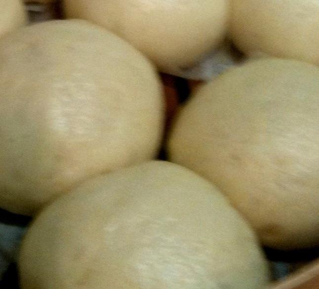 Chi style steamed custard buns