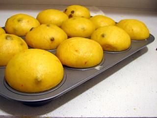 Proofed Saffron Buns