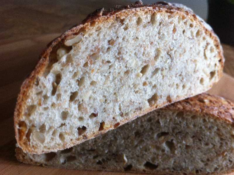 Procedure For Multi Grain Baguette With Seeds And Pate Fermentee