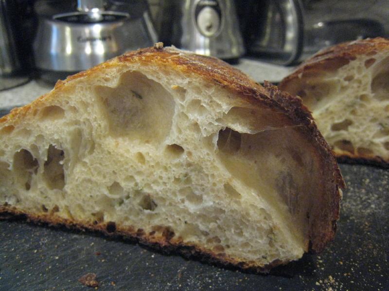 cold oven loaf