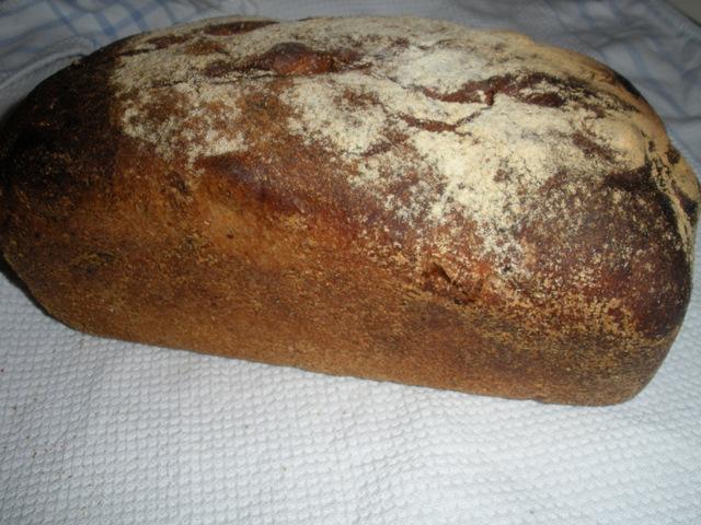 Hamelman's Hazelnut & Prune Bread