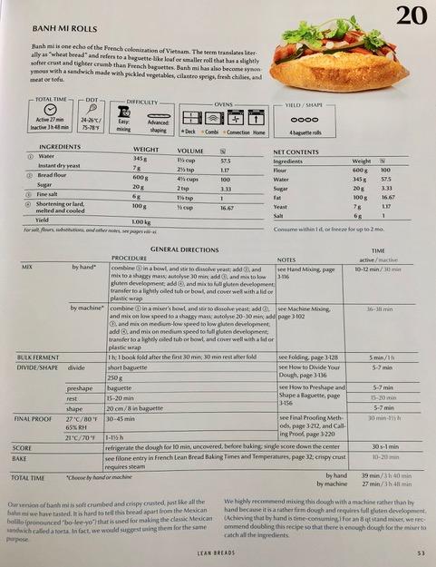 Banh Mi Recipe Page