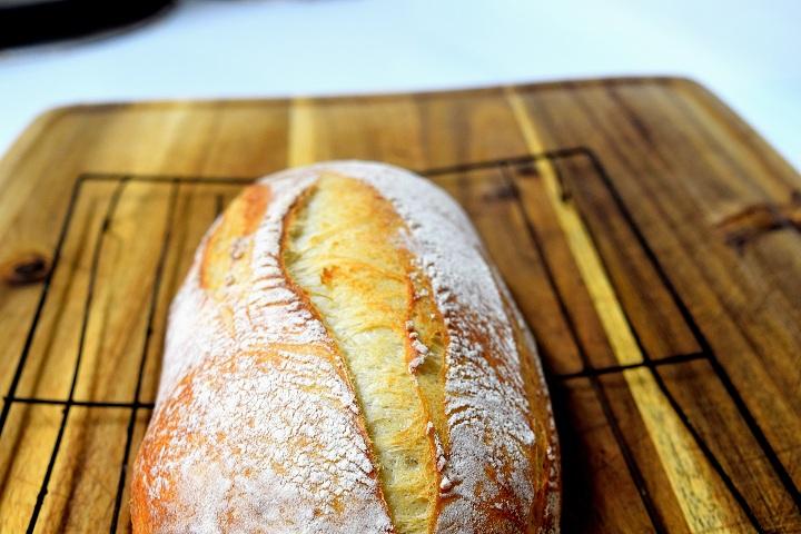 Sandwich Bread with scoring