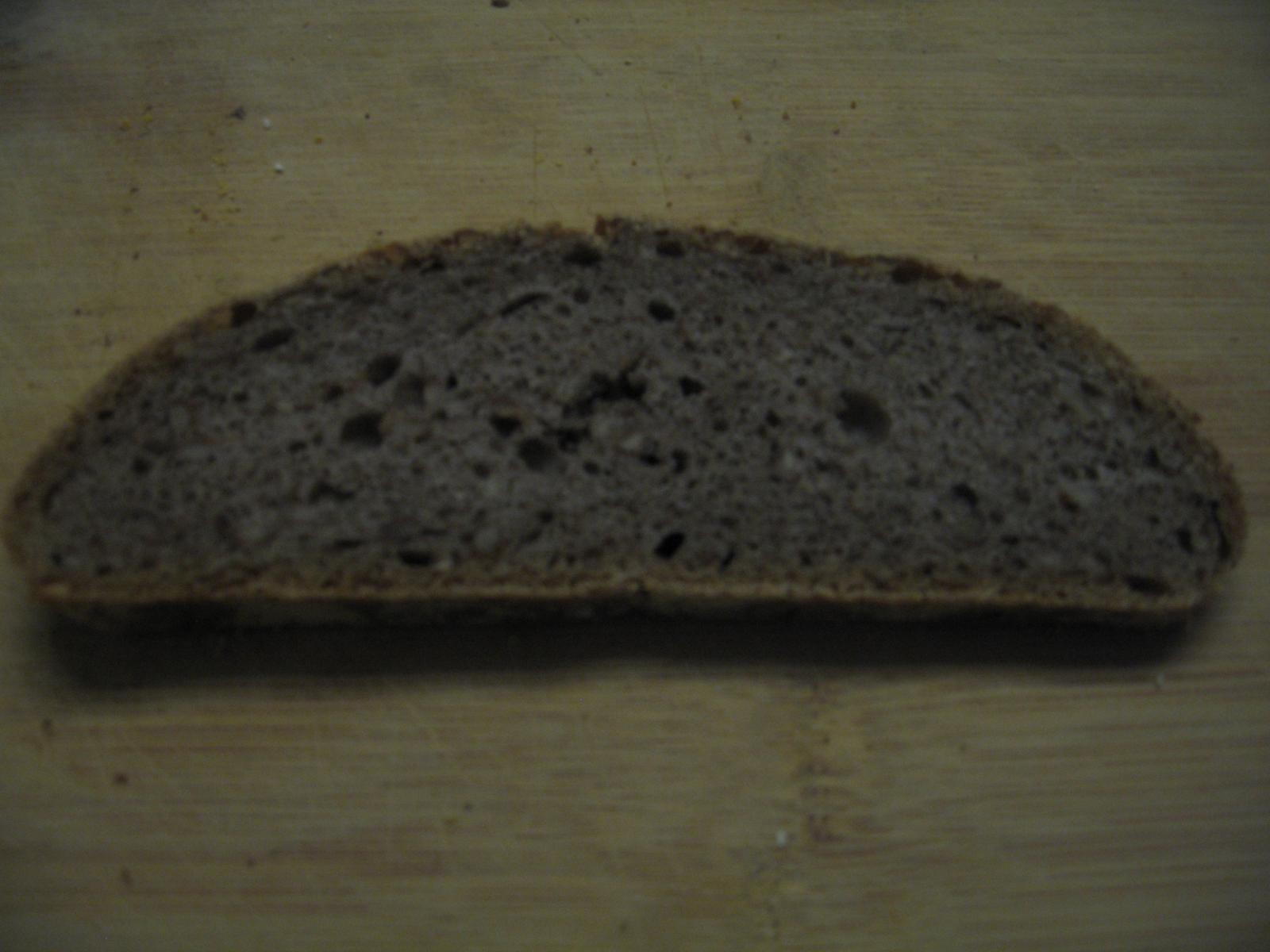 Two-Dough Crumb Closeup
