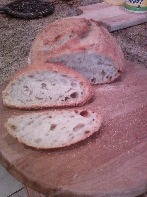 dutch oven sourdough round