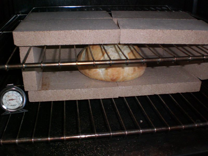 Here S The Bread In Box I Accidentally Moved Bricks When Was Ling There