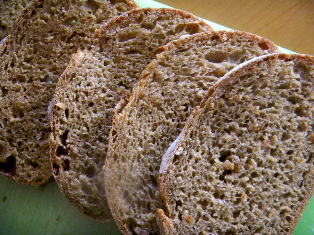 100% Whole Spelt SD w/ 50% Sprouted Flour,  Spelt Sprouts &  Baked Scald 15