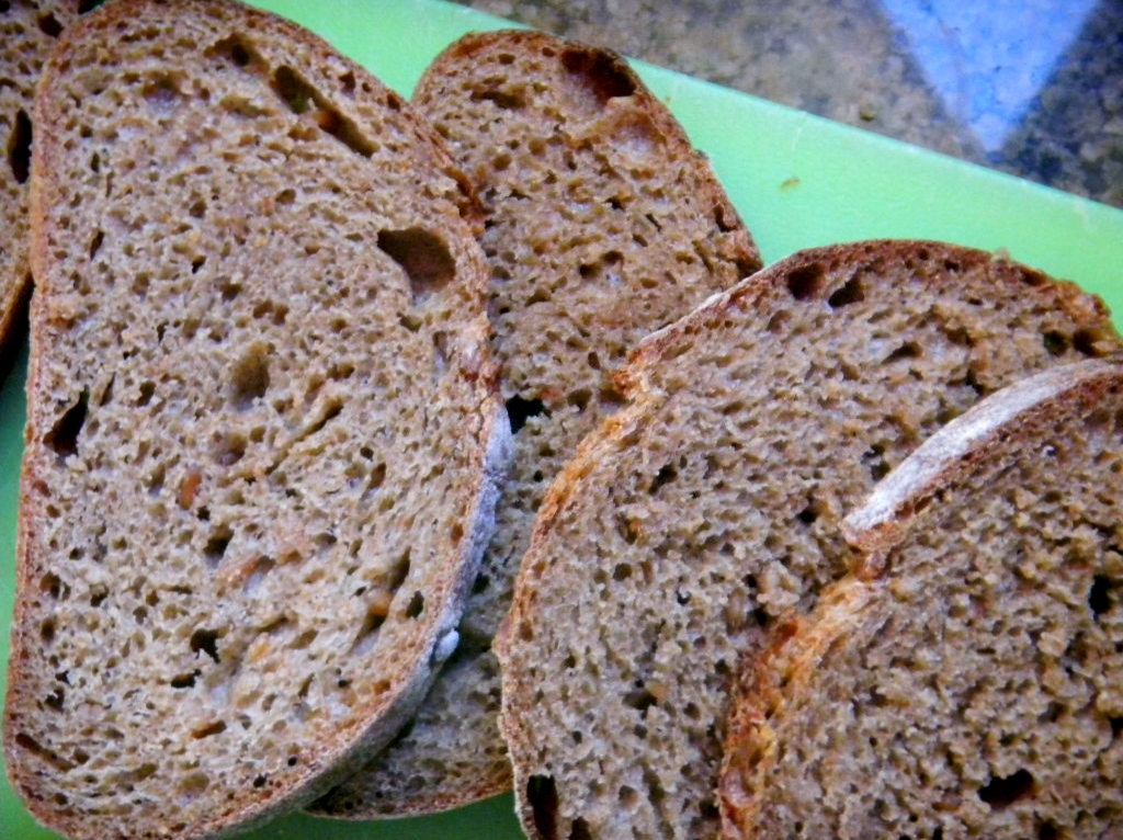 100% Whole Spelt SD w/ 50% Sprouted Flour,  Spelt Sprouts &  Baked Scald 14
