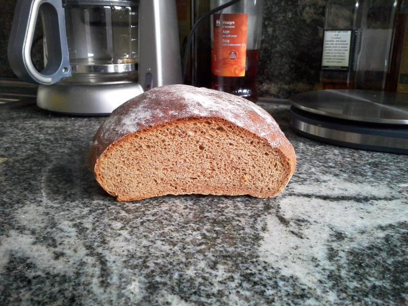 Chestnut flour speculoos bread