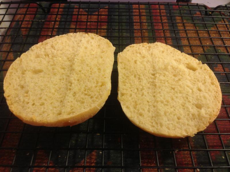 Onion Bun Crumb