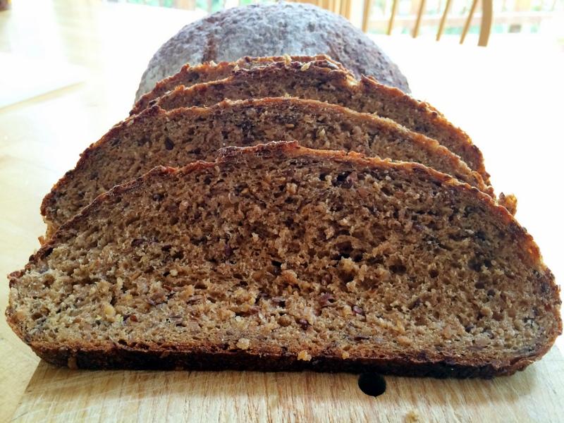 Finnish Rye Crumb