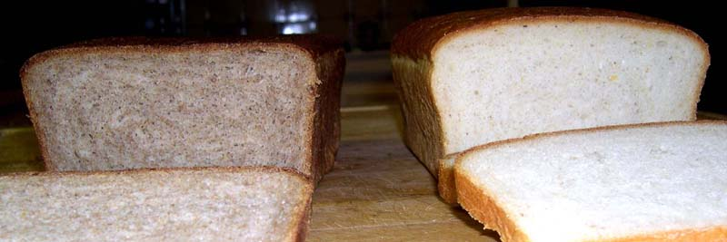 Whole Wheat & White SR Bread