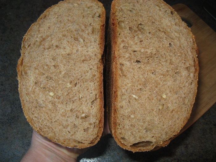 I M Happy With This Bread And Even More Happy That My Bread Making Skills Have Progressed To The Point Where I Can Whip Up A Bread Like This With No Recipe
