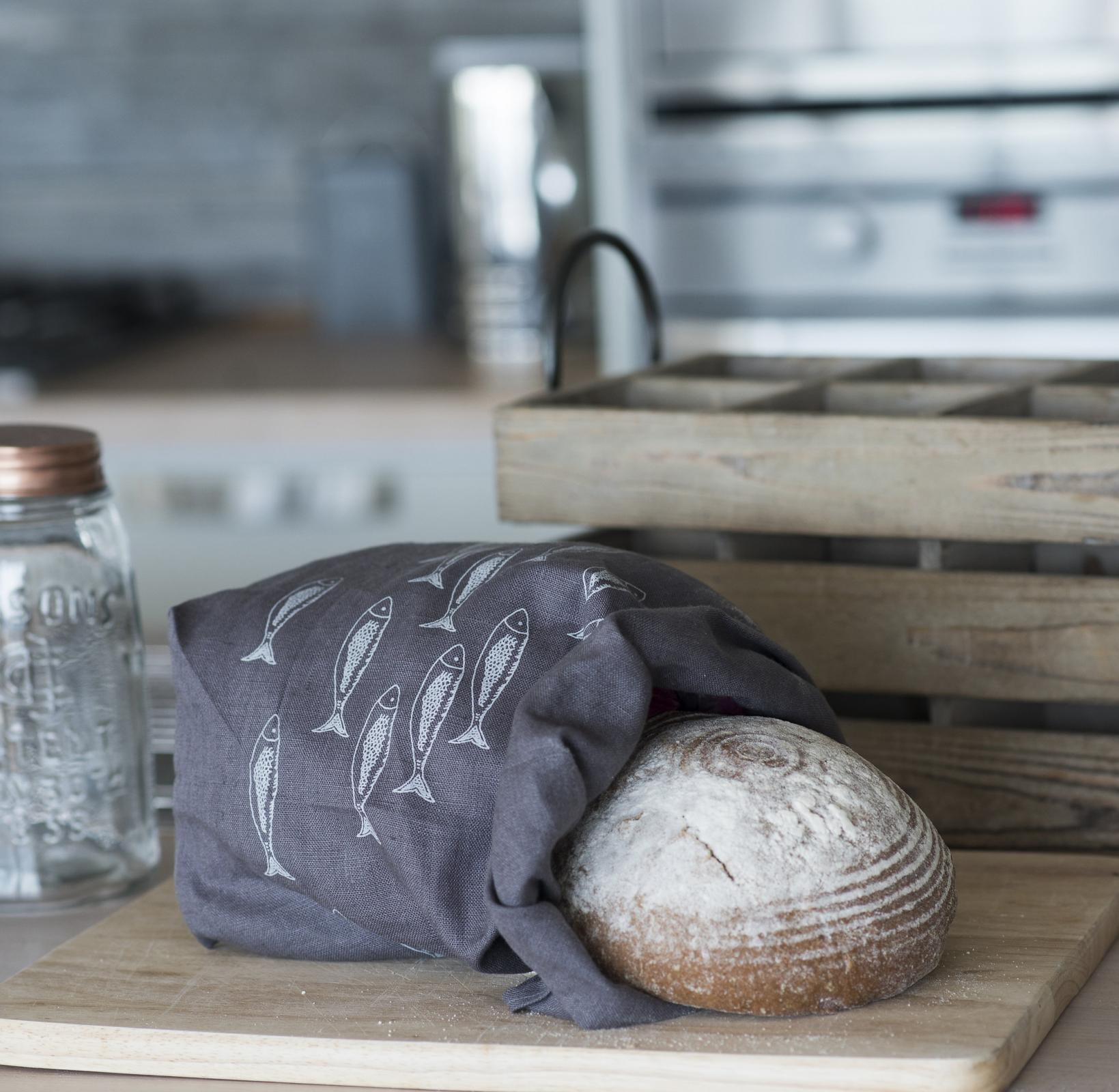 Linen Bread Bag From The Quayside Collection