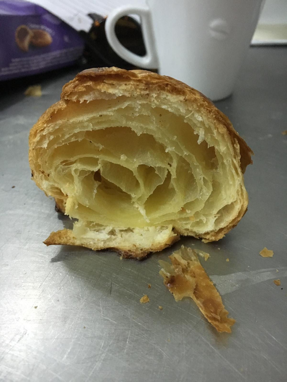 Inside croissant