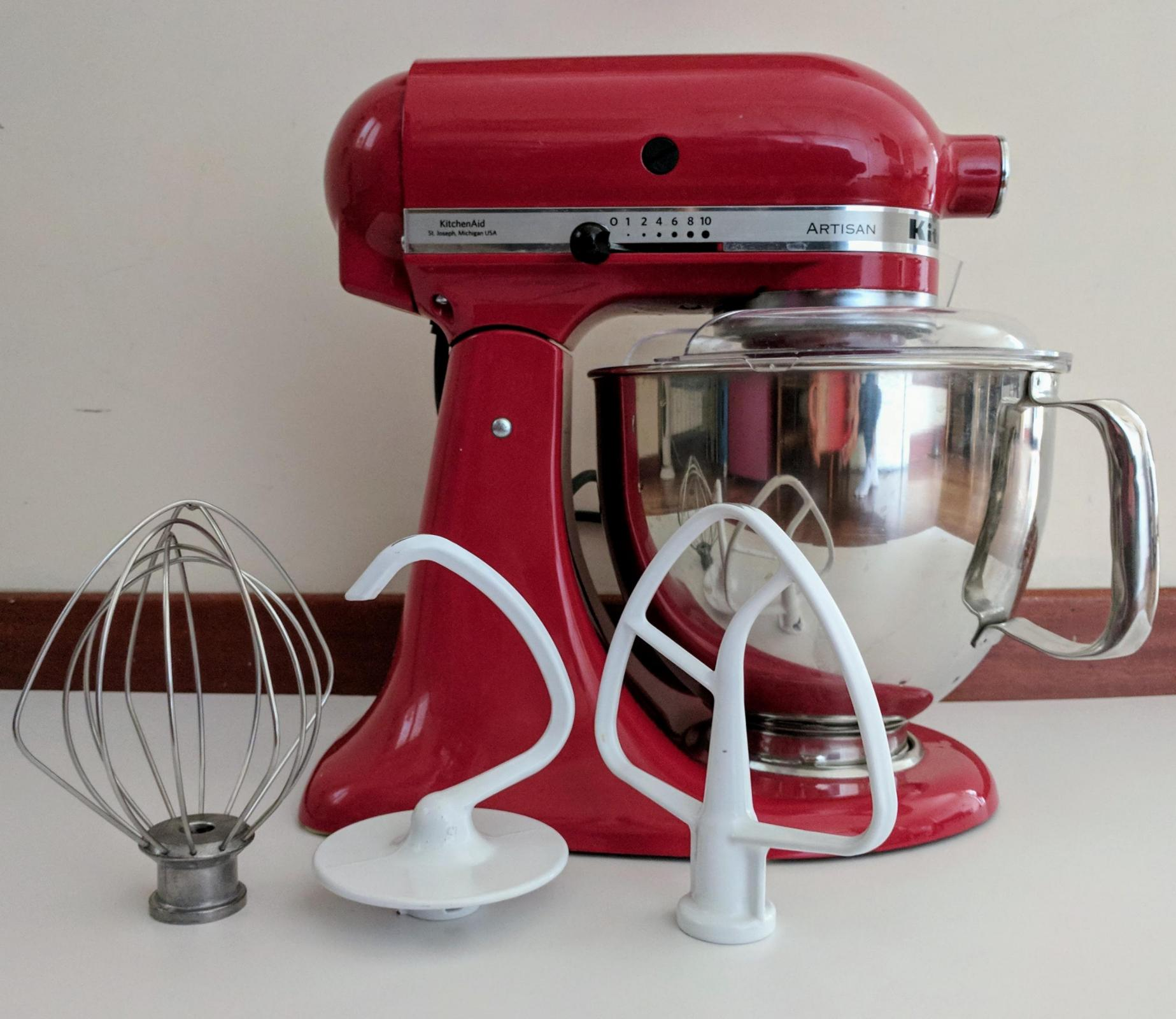 Kitchenaid Artisan stand mixer 4 8L empire red