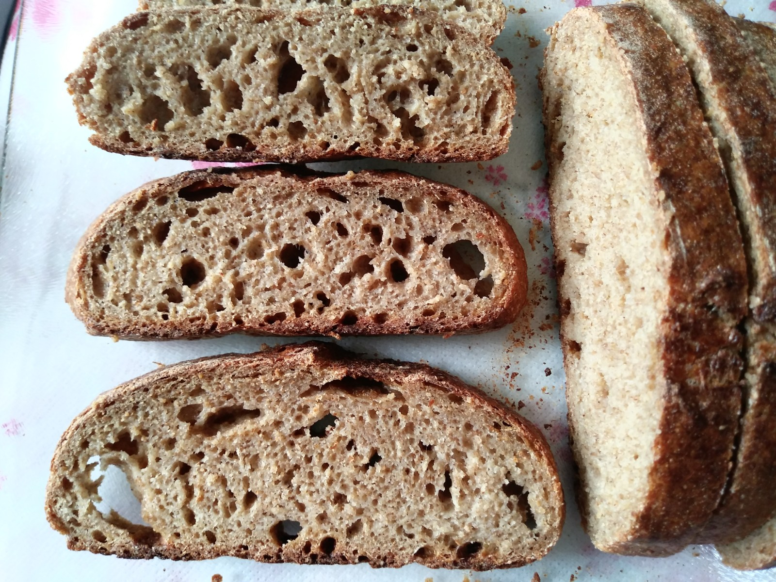 For Those on a 100% Whole Wheat No Added Gluten Mission