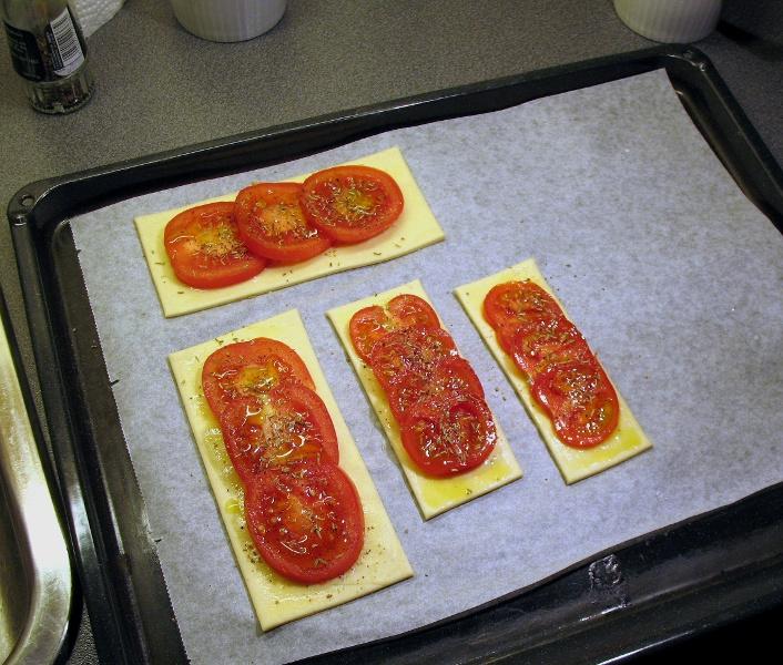 Tomato flan