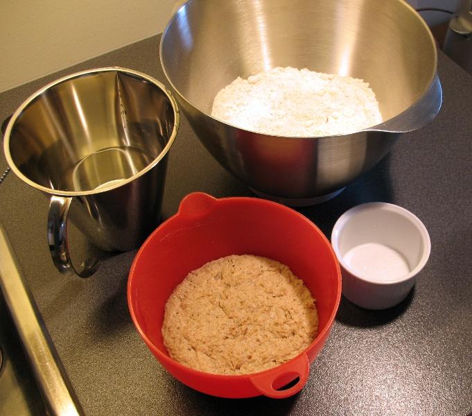 40% rye mise en place