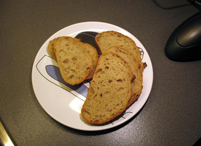 Pain au Levain with rye starter