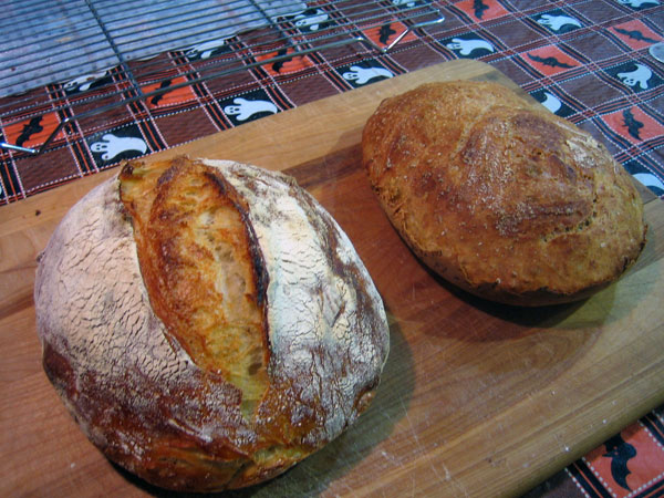 both loaves
