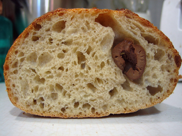 olive levain inside