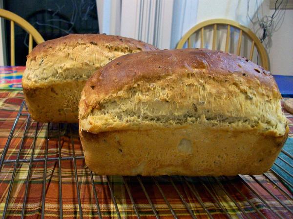 Wild Rice Onion Bread