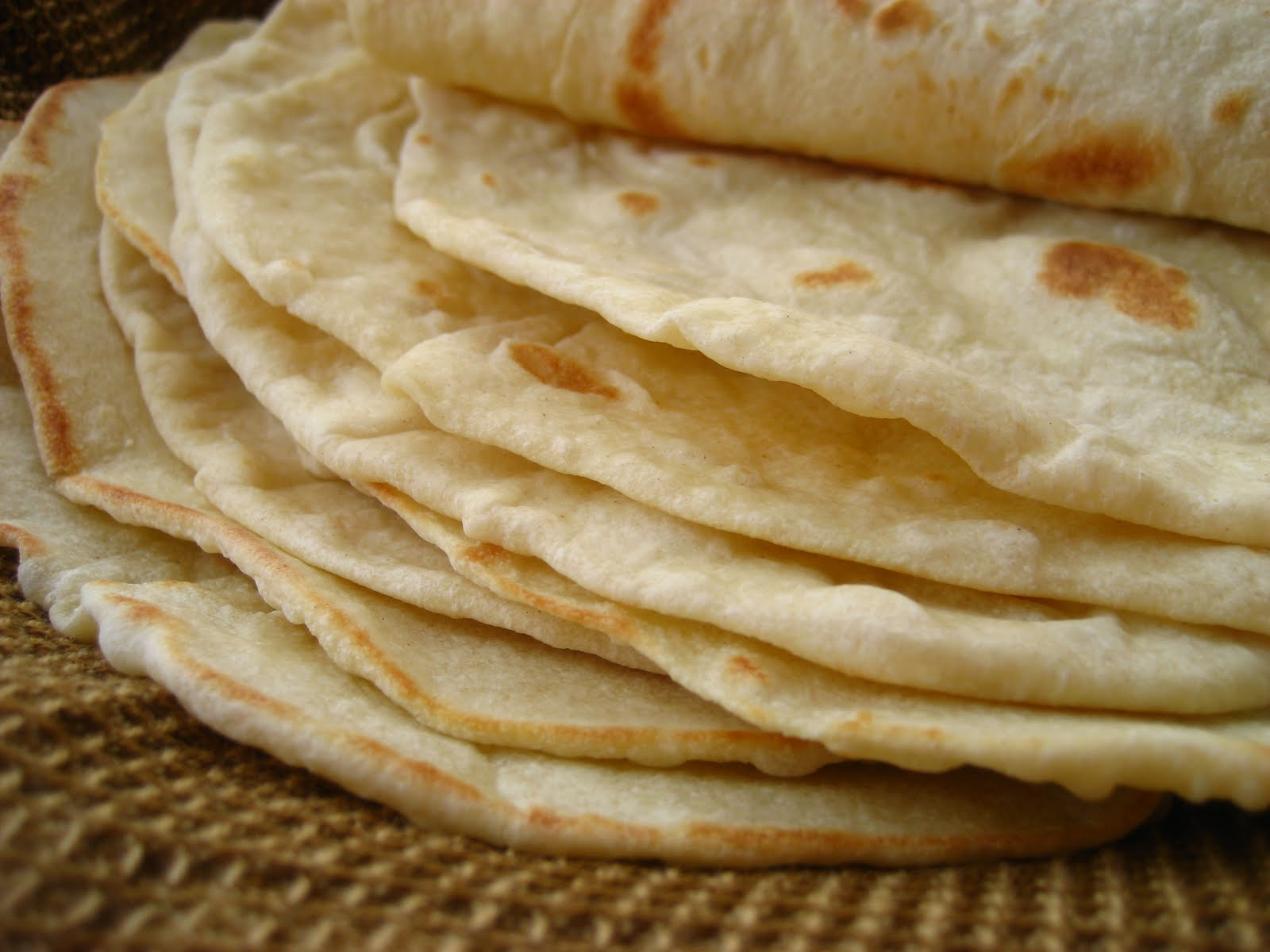 ... The Best Ever ~ Homemade and Healthy Flour Tortilla and Wrap Recipe
