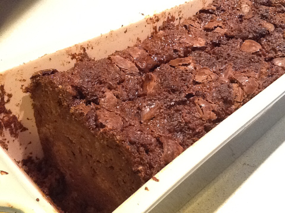 Eat more chocolate! (bread pudding that is)