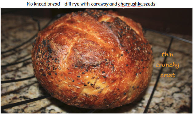 ... to using a cornstarch wash on my dill rye now... | The Fresh Loaf