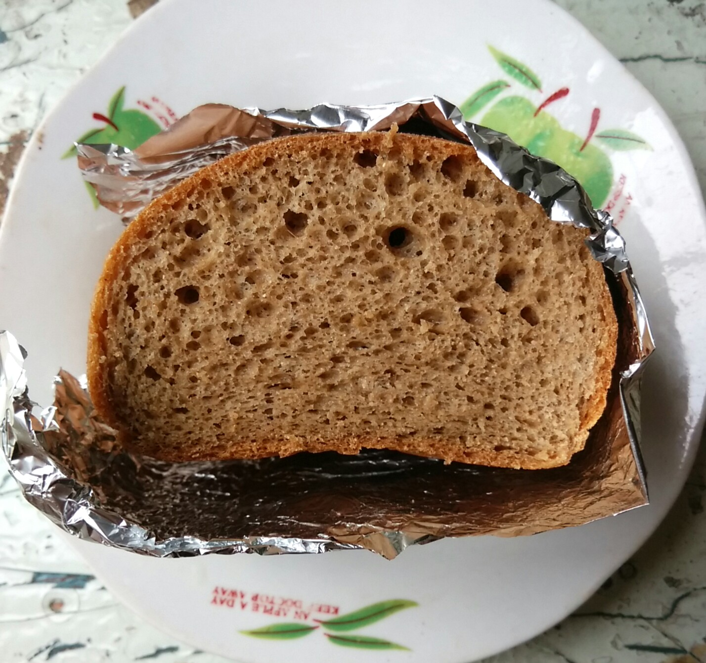 First attempt low carb Bread without