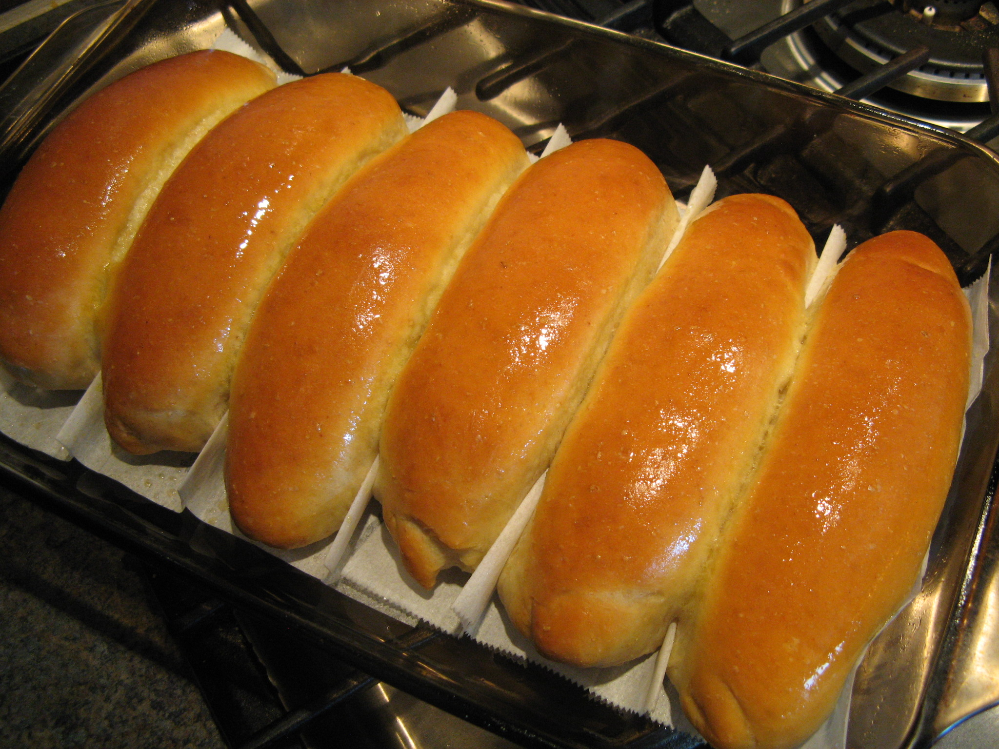 Quick Amp Easy Hot Dog Bun Pan The Fresh Loaf
