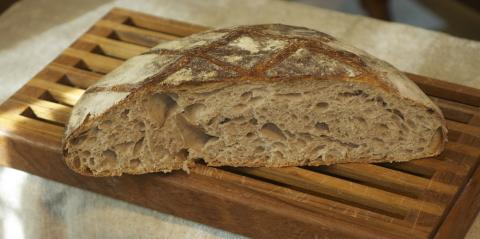 My Tartine-style Big Loaf