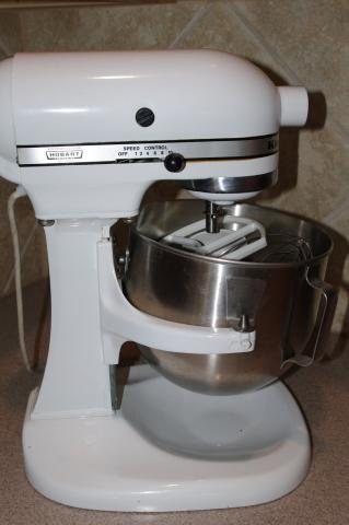 Just brought a kitchen aid hobart k5ss the fresh loaf - Food grade grease kitchenaid ...