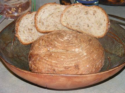Five-Grain Seeded Sourdough
