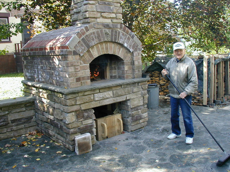 building a small scottstyle brick oven