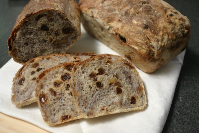 dan dimuzio double raisin bread with toasted walnuts
