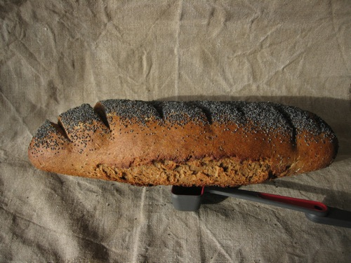 Dan Lepard's Black Pepper Rye loaf