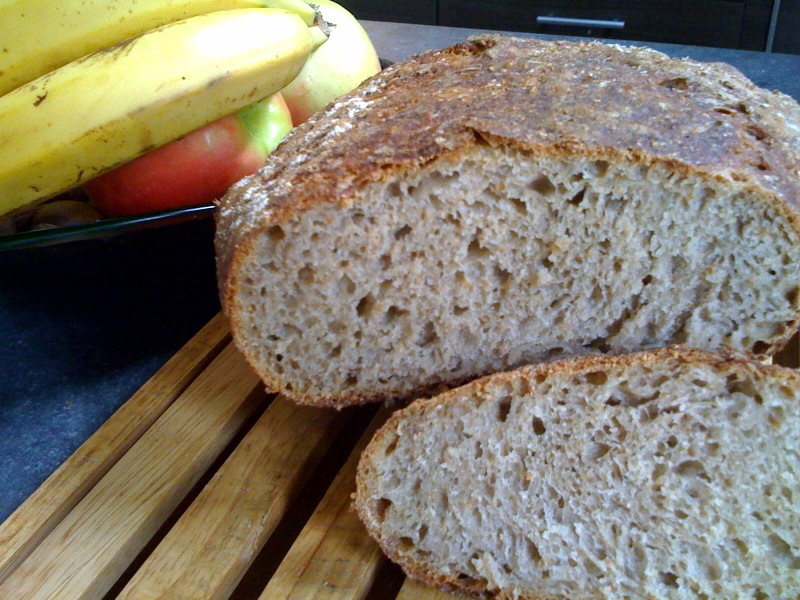 Banana Sourdough bread