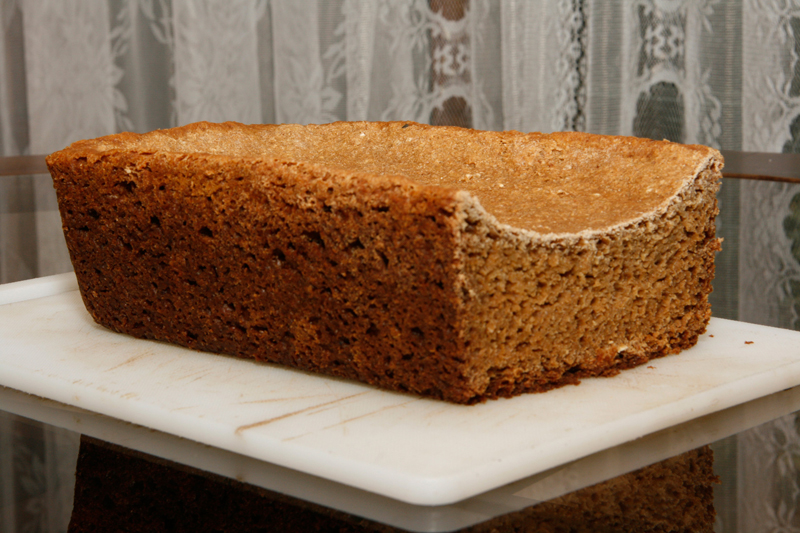 Sprouted-wheat loaf