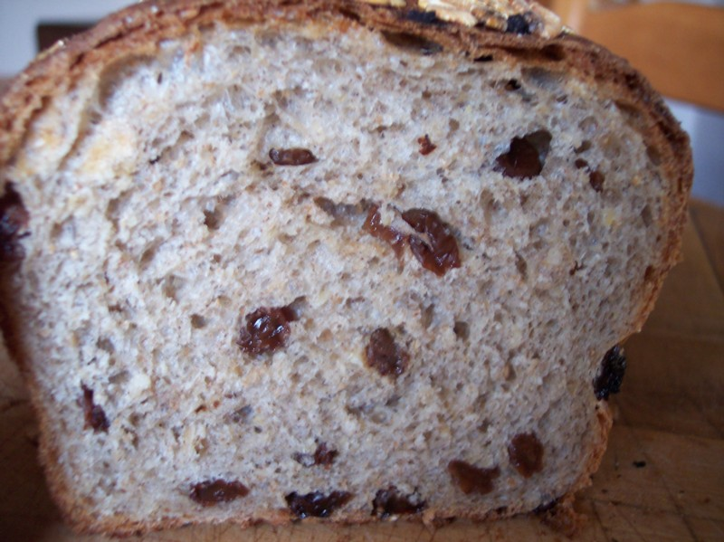 Cinnamon Raisin Oatmeal Bread | The Fresh Loaf