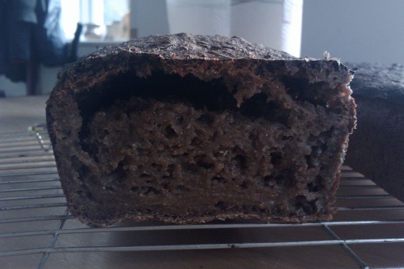 100% Rye Sourdough - Rubbish!