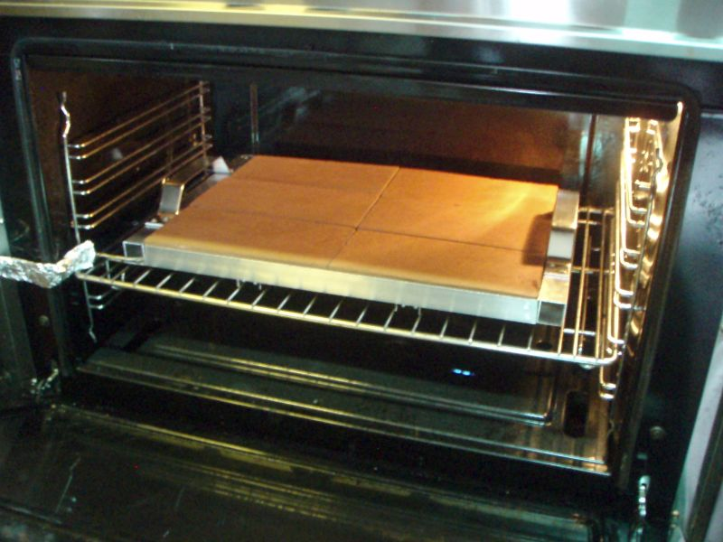 "Baking ""Bricks"" in the oven"