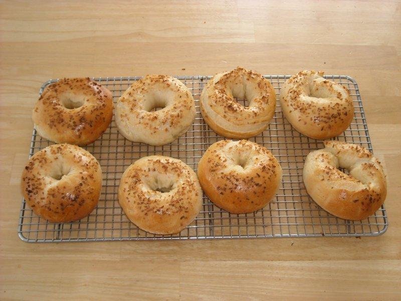 Homemade Bagels, à La Jo Goldenberg Recipe — Dishmaps