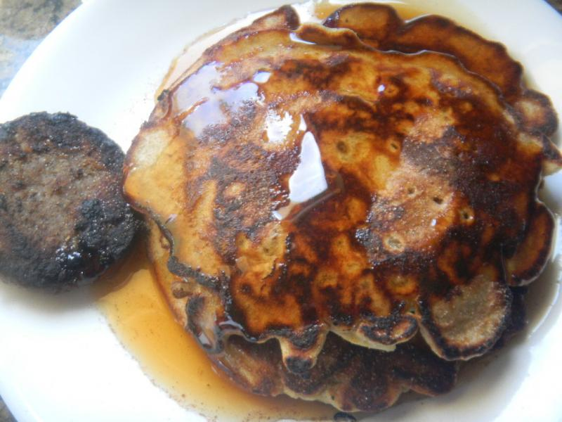 Mothers Day YW Apple, Pecan Buckwheat Pancakes with a Nice Chicken and ...
