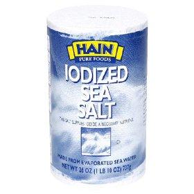 Is sea salt iodized