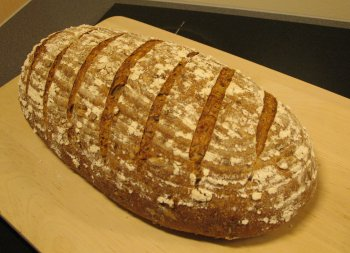 Hamelman's Five grain rye sourdough