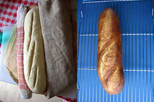 before and after bread